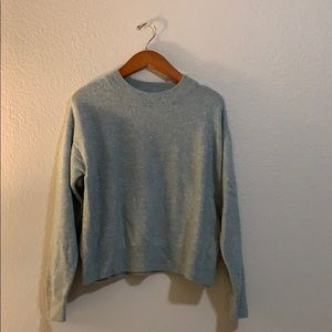 H&M sparkly slouchy sweater